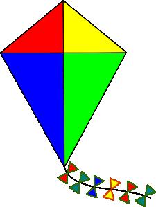 free vector Kite clip art