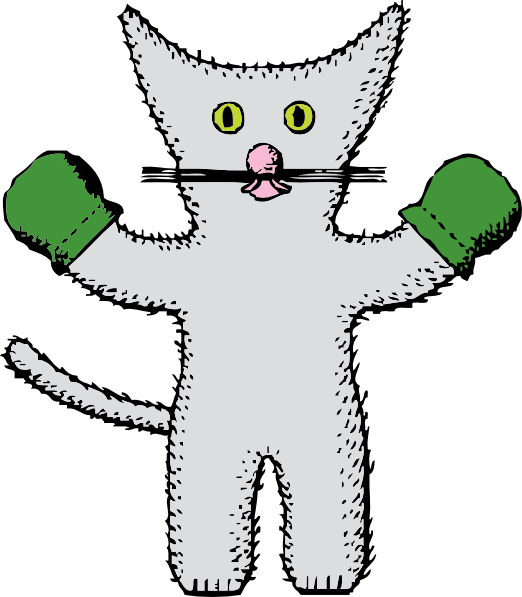 ... -with-mittens-clip-art_118998_Kitten_With_Mittens_clip_art_hight.png