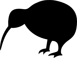free vector Kiwi Bird clip art