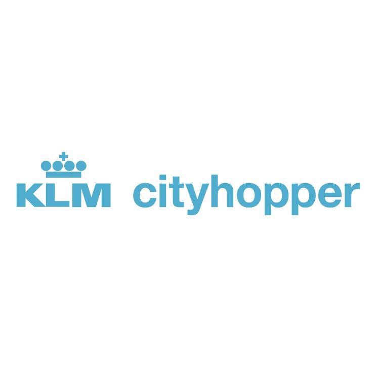 Klm cityhopper Free Vector / 4Vector
