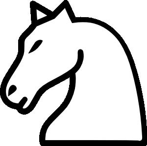 free vector Knight Chess Piece clip art