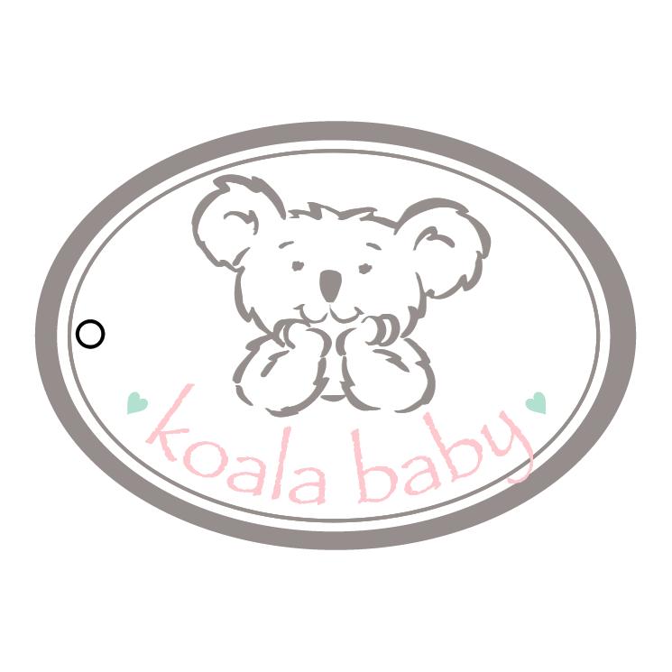 free vector Koala baby