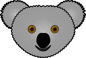 free vector Koala clip art
