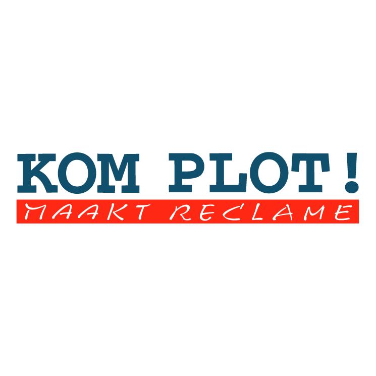 free vector Kom plot