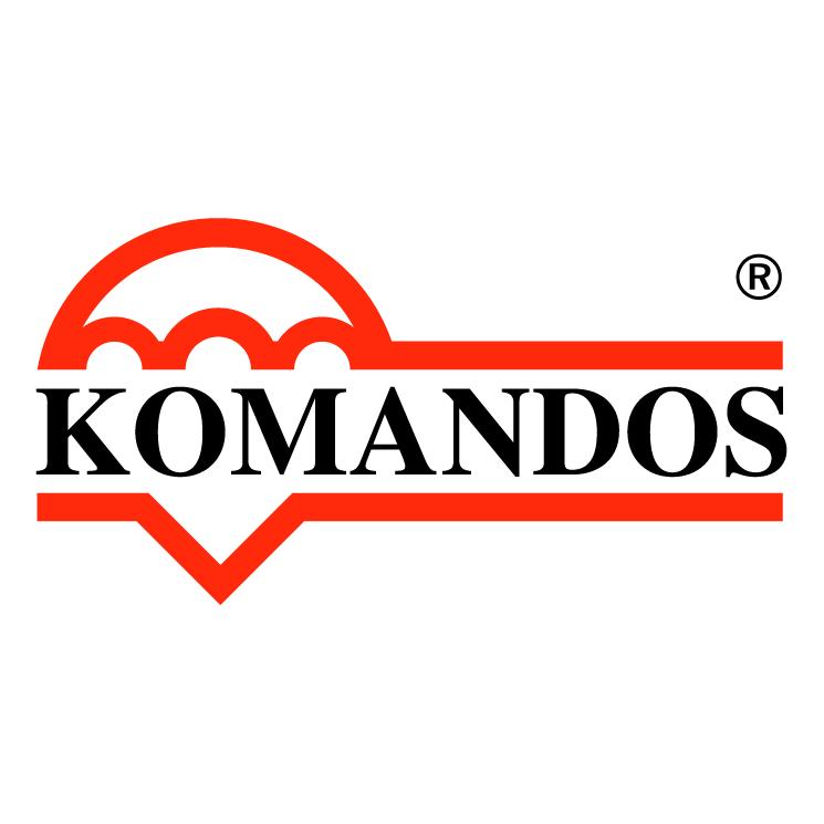 free vector Komandos