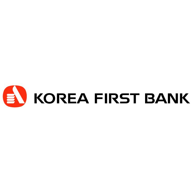 free vector Korea first bank