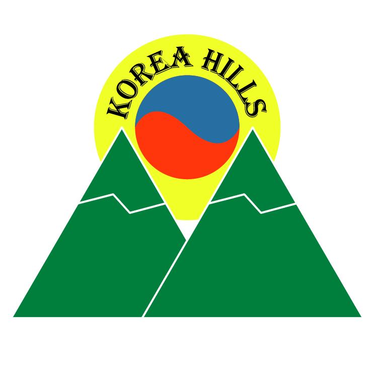 free vector Korea hills