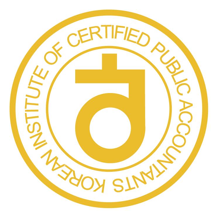 free vector Korean institute of certified public accountants