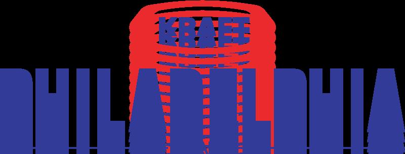 free vector Kraft Philadelphia logo