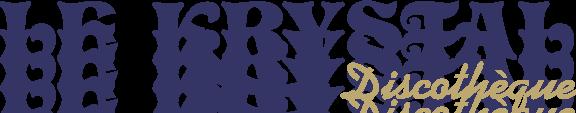 free vector Krystal discoteque logo