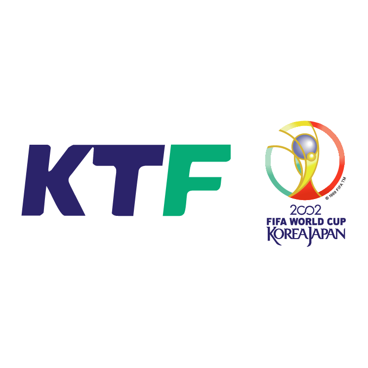 free vector Ktf 2002 world cup official partner