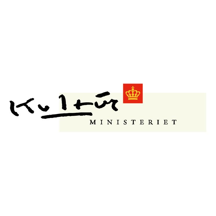 free vector Kultur ministeriet