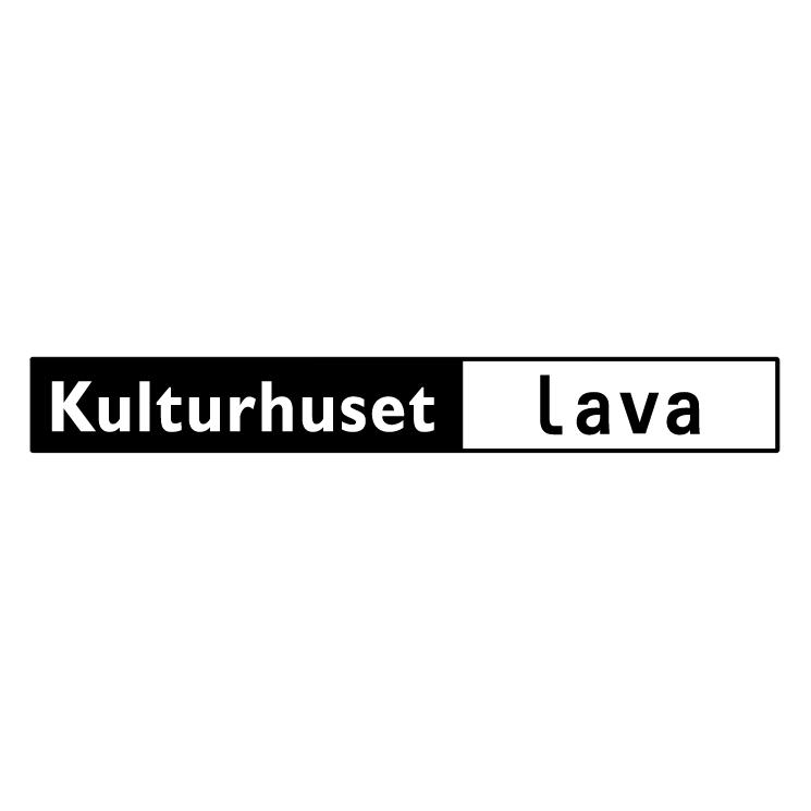 free vector Kulturhuset lava
