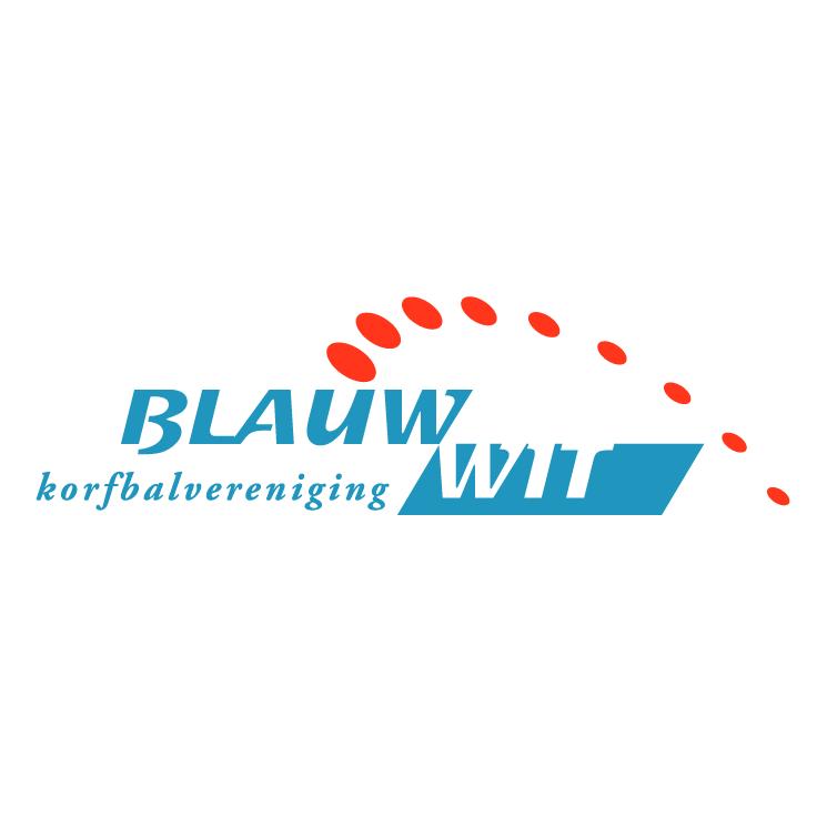 free vector Kv blauwwit heerenveen