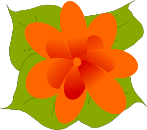 free vector Kvetina clip art