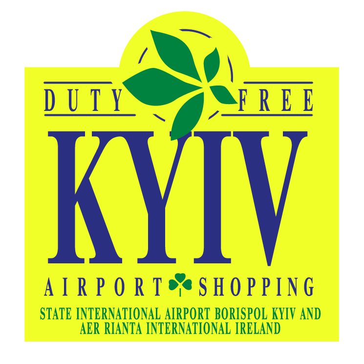 free vector Kyiv airport shopping