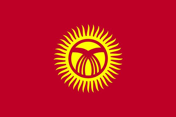 free vector Kyrgyzstan clip art