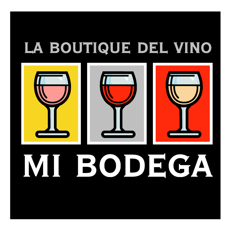 free vector La boutique del vino mi bodega