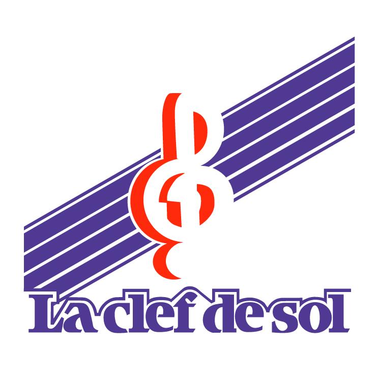 free vector La clef de sol