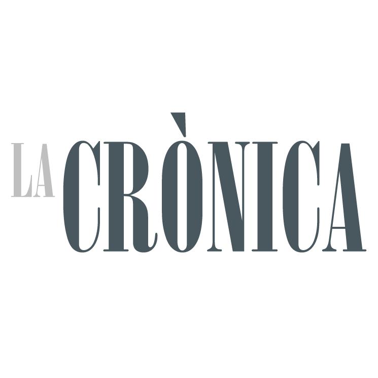 free vector La cronica