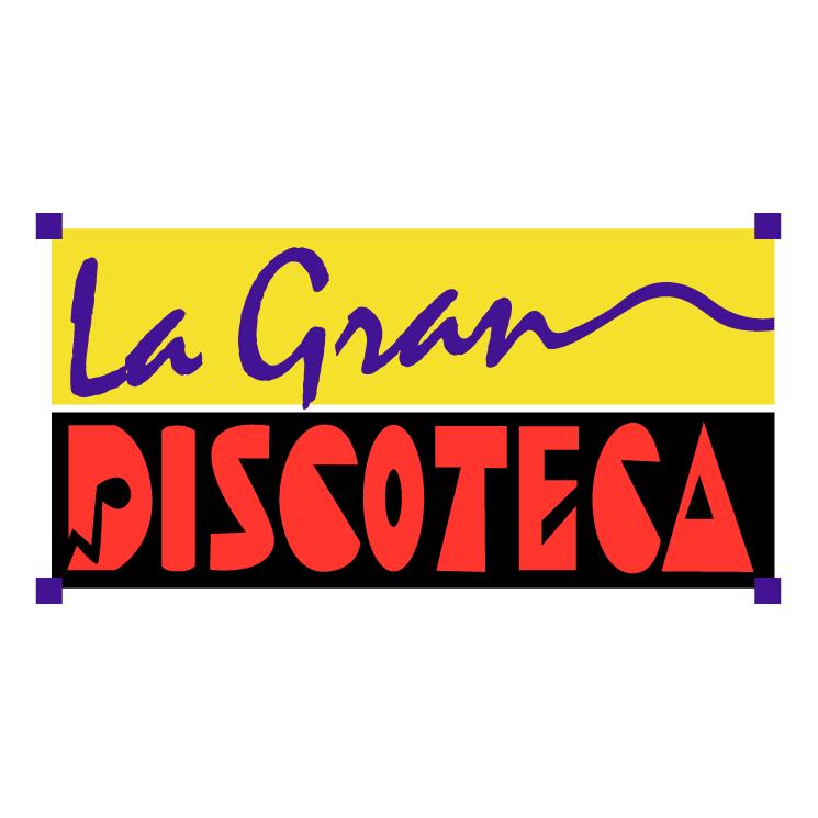 free vector La gran discoteca