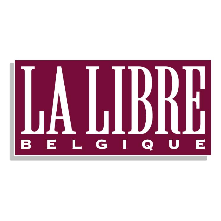 free vector La libre belgique