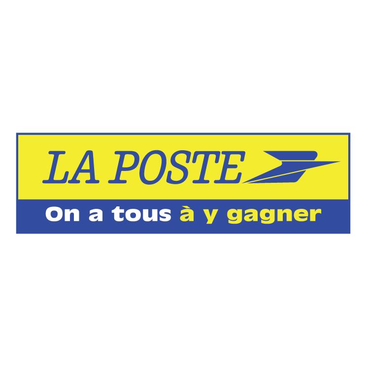 free vector La poste 4