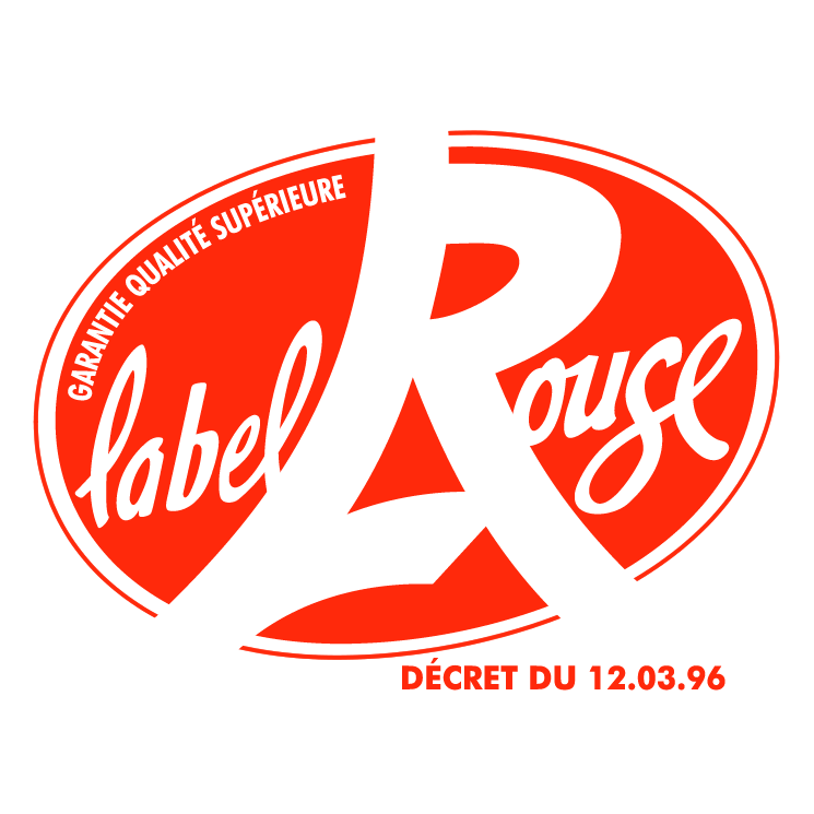 free vector Label rouge