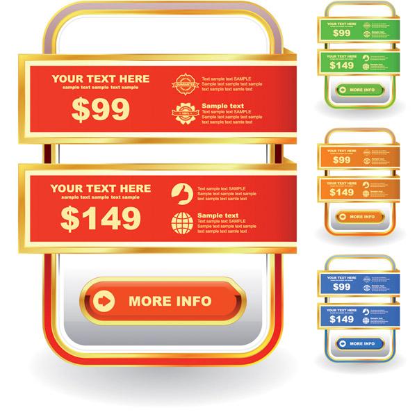 free vector Label sales vector