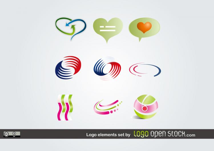free vector Labeling pattern vector