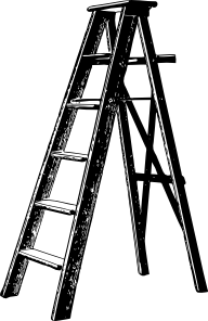 Ladder clip art (115906) Free SVG Download / 4 Vector
