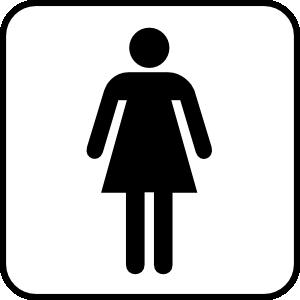 free vector Ladies Room clip art