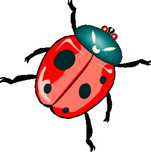 free vector Lady Bug clip art