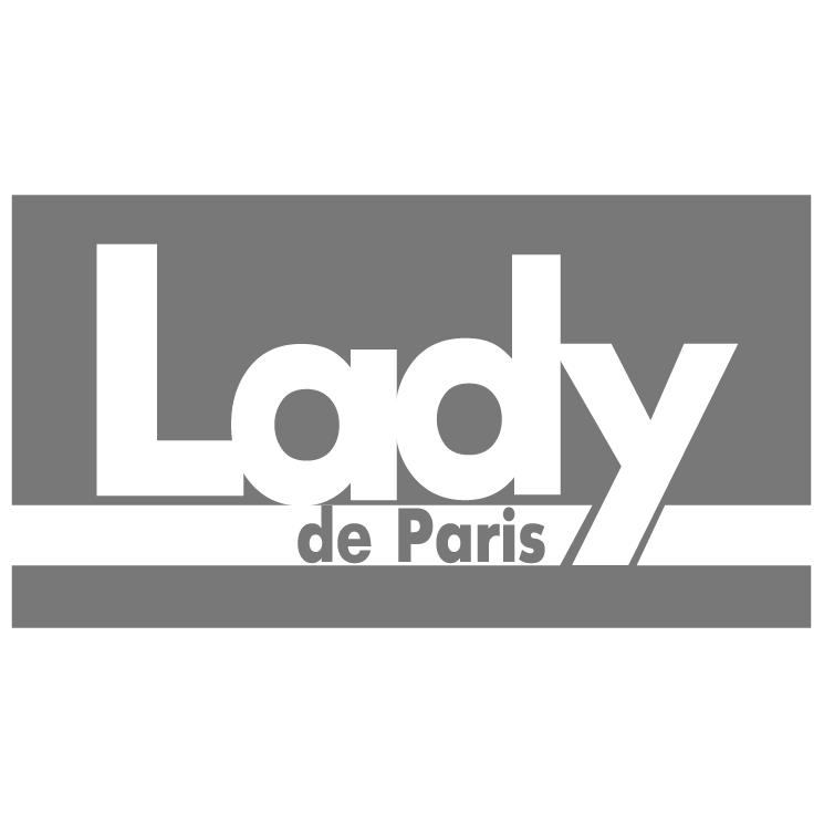 free vector Lady de paris