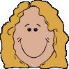 free vector Lady Face clip art
