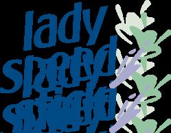 free vector Lady Speed Stick logo