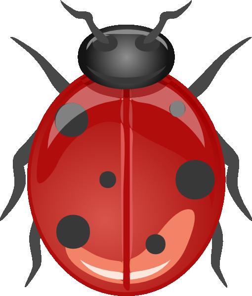 ladybug clip art free vector 4vector rh 4vector com