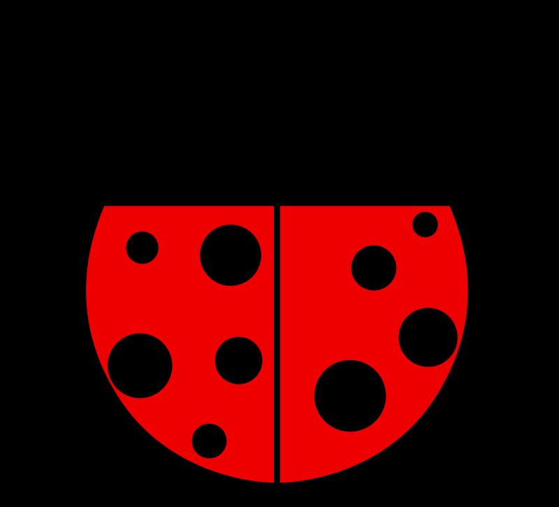 free vector Ladybug flat colors