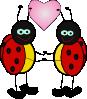 free vector Ladybugs Cartoon clip art