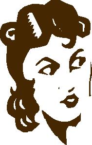 free vector Ladys Face clip art