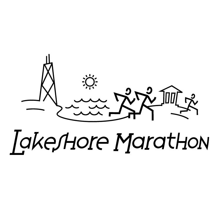 free vector Lakeshore marathon