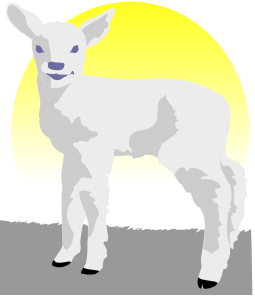 free vector Lamb clip art