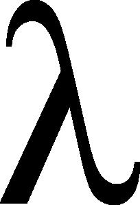 free vector Lambda clip art
