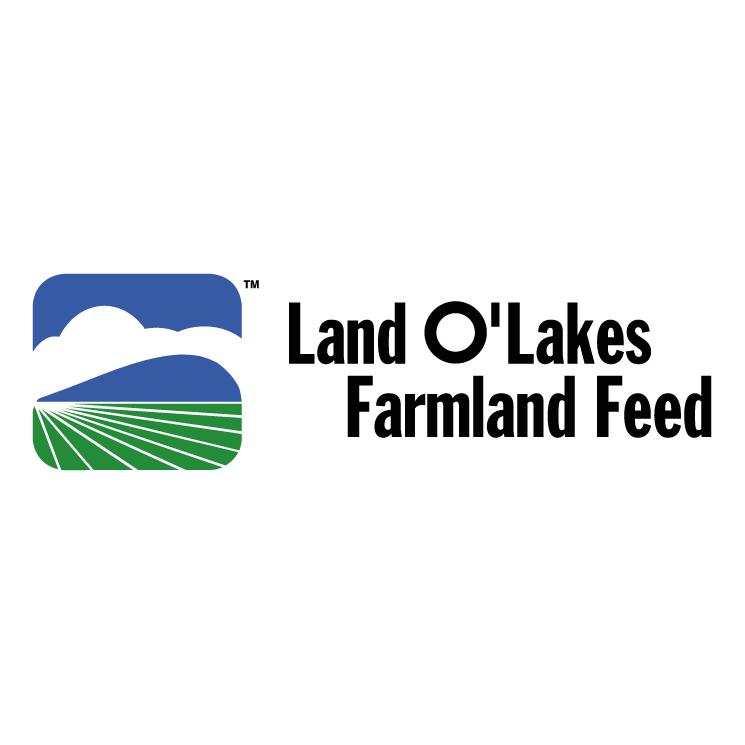 free vector Land olakes farmland feed