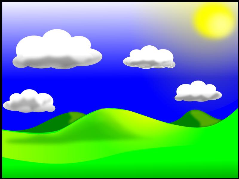 free vector Landscape_02