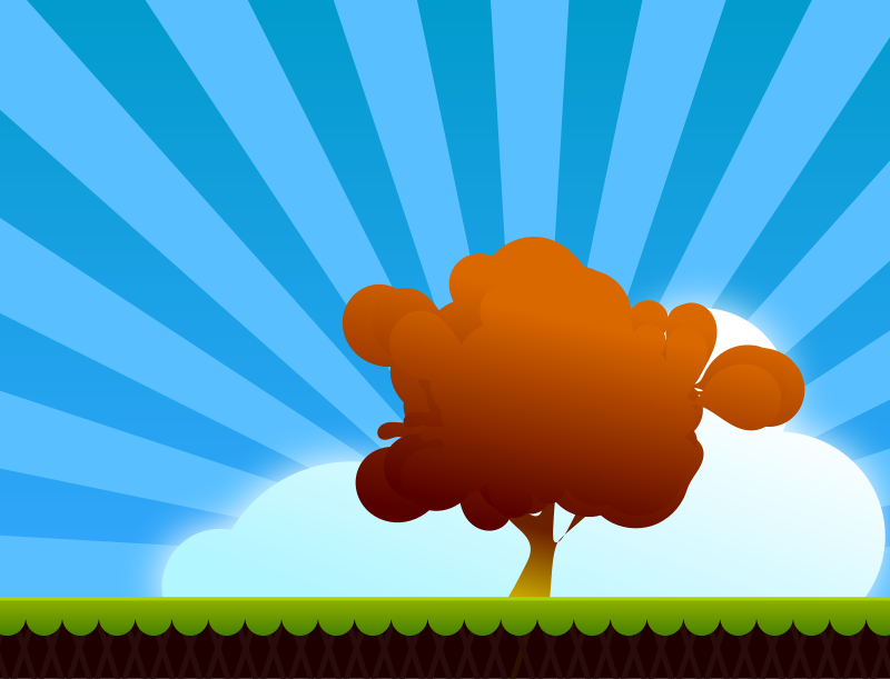 free vector Landscape-paisaje
