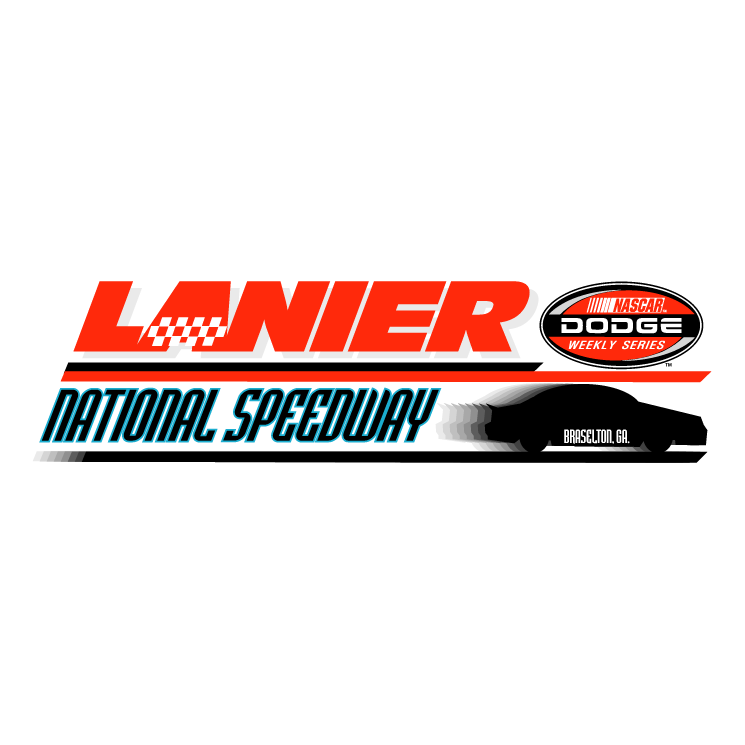 free vector Lanier national speedway 0