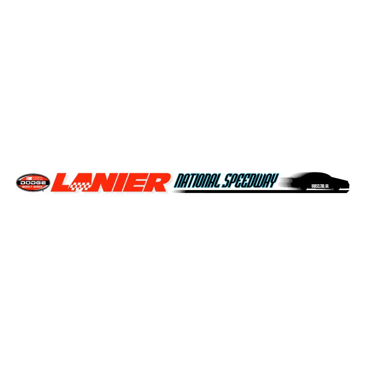 free vector Lanier national speedway 1
