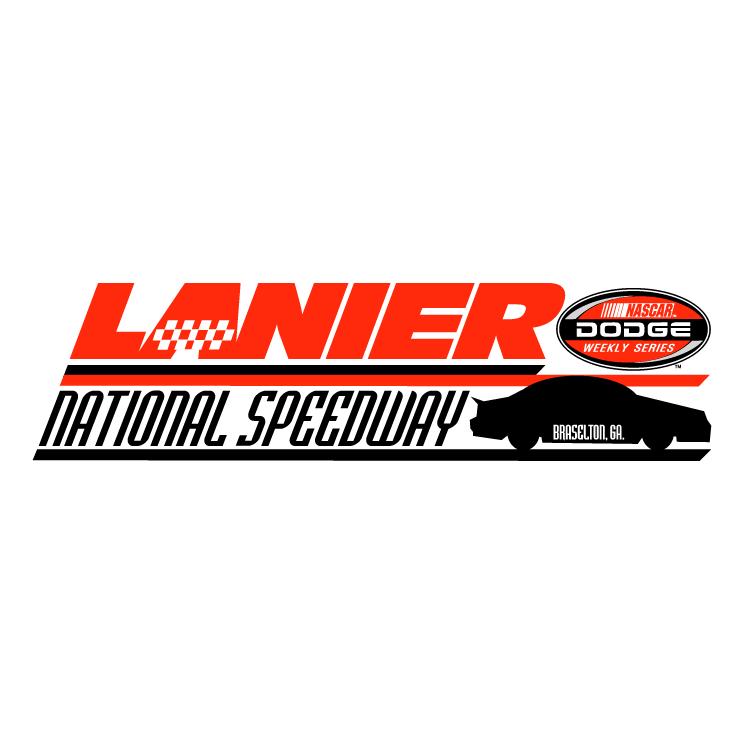 free vector Lanier national speedway