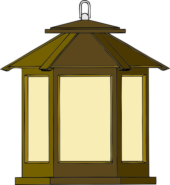 Lantern clip art free vector 4vector for Exterior lamp png